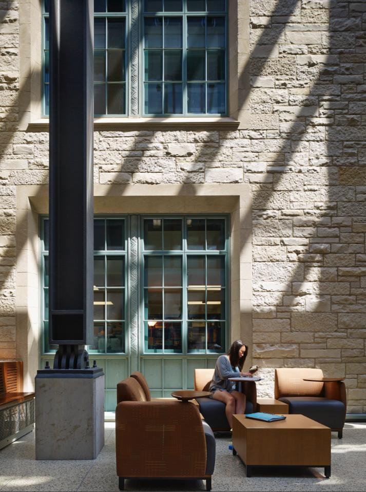 Flad Architects Northwestern University Technological Institute