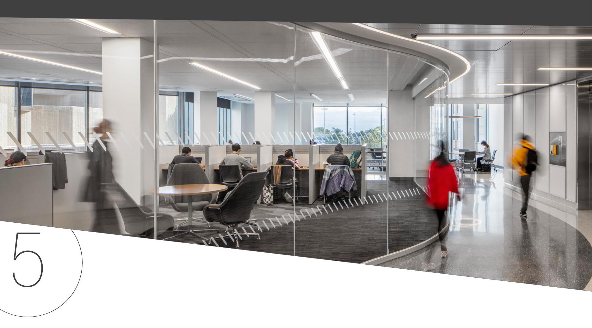 Flad Architects Northwestern University Seeley G. Mudd Engineering Library