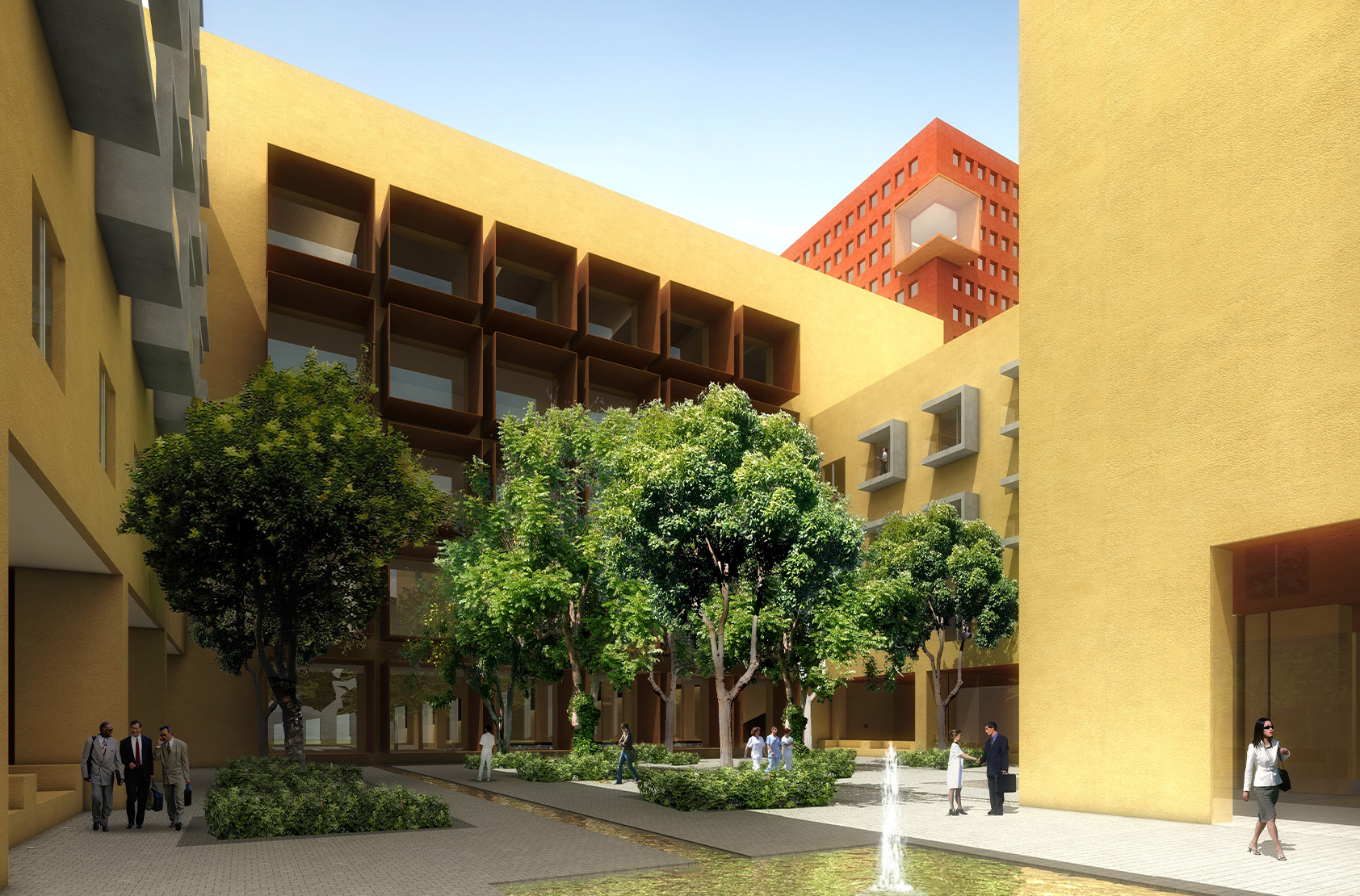 Centro Medico Zambrano Hellión - Master Plan