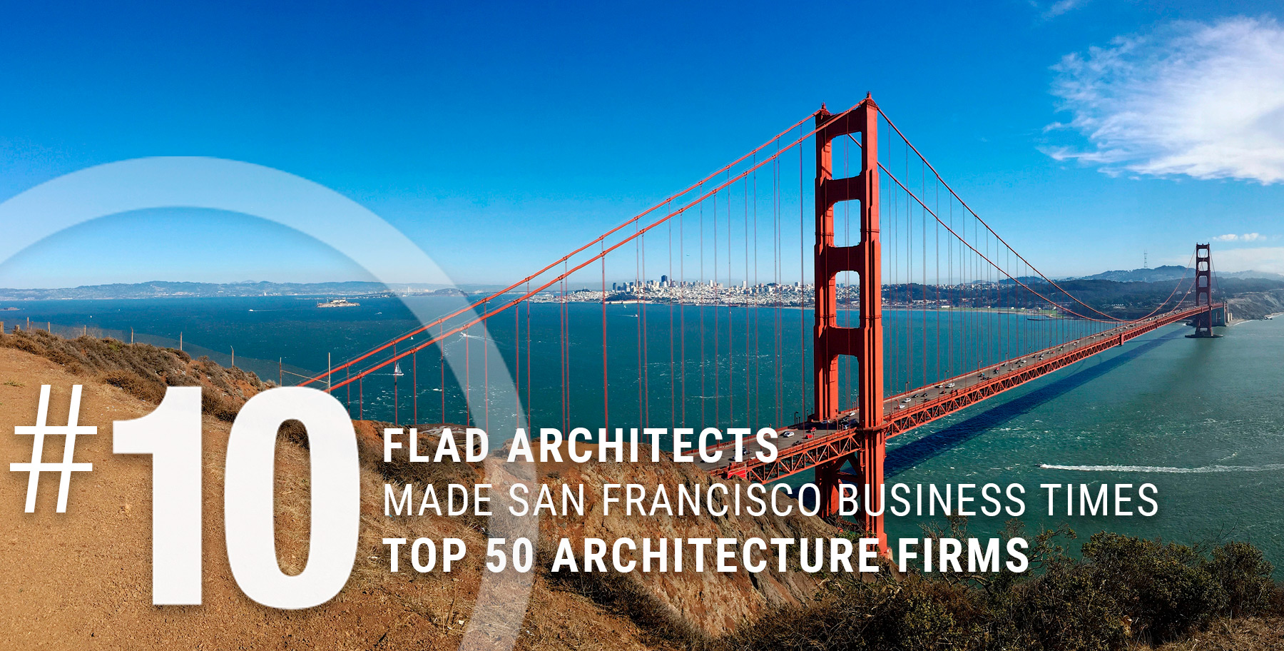 Flad Architects is Number 10 in San Francisco Business Times Top 50 Architecture Firms | Flad Architects