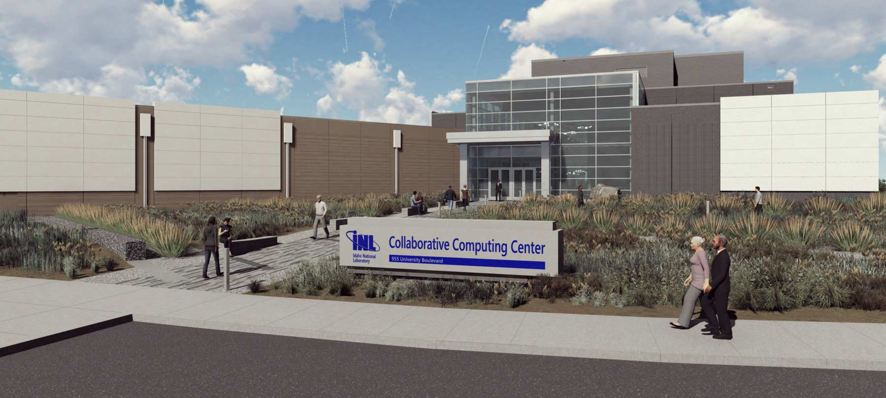 Collaborative Computing Center : Cybercore Integration Center : Idaho National Laboratories Groundbreakings