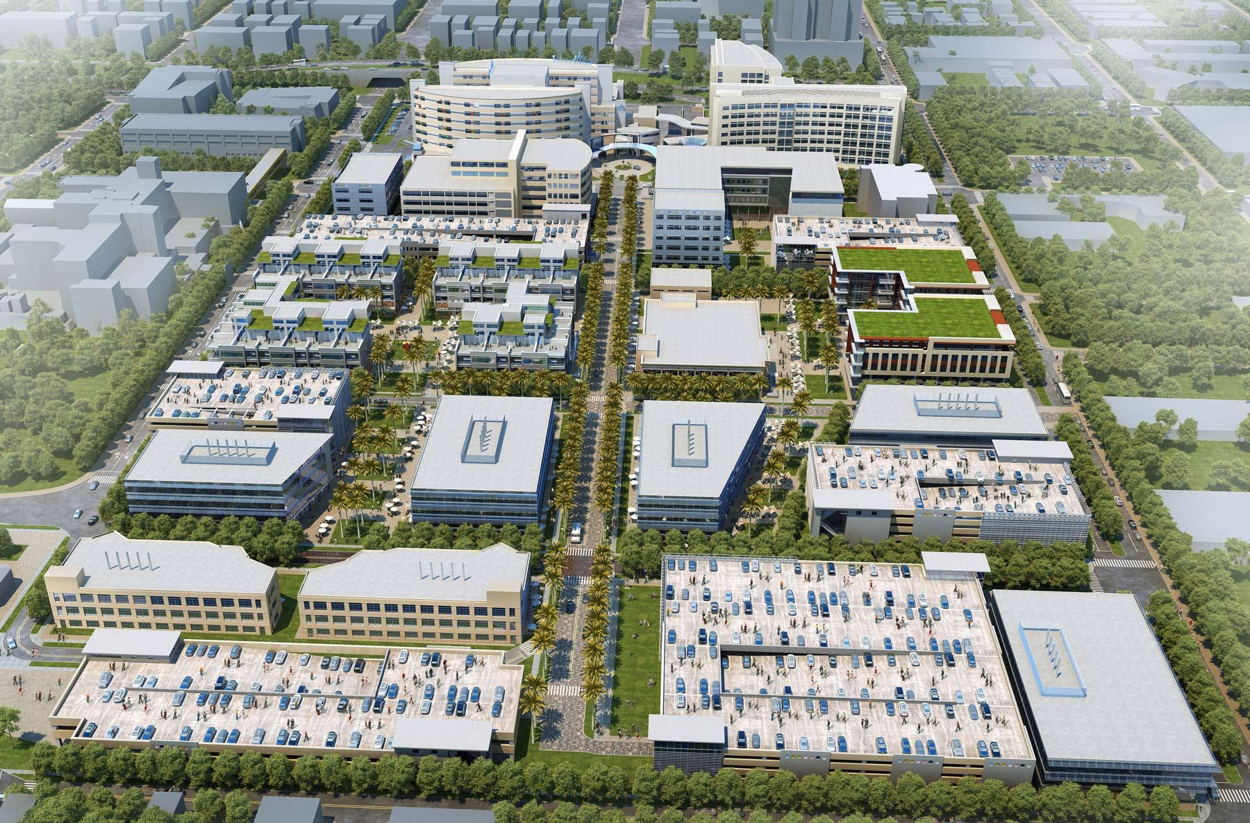 Johns Hopkins All Children's Hospital - Master Plan