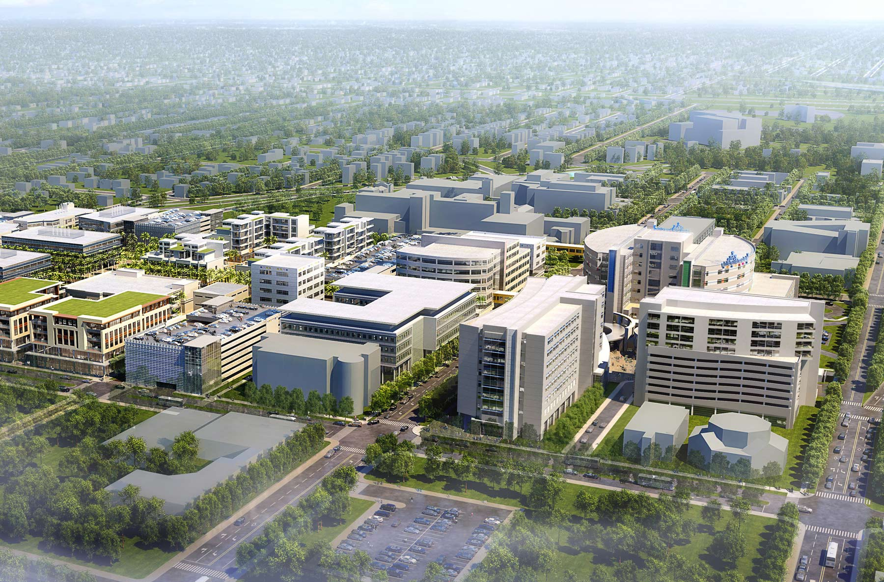 Johns Hopkins All Children's Hospital - Master Plan