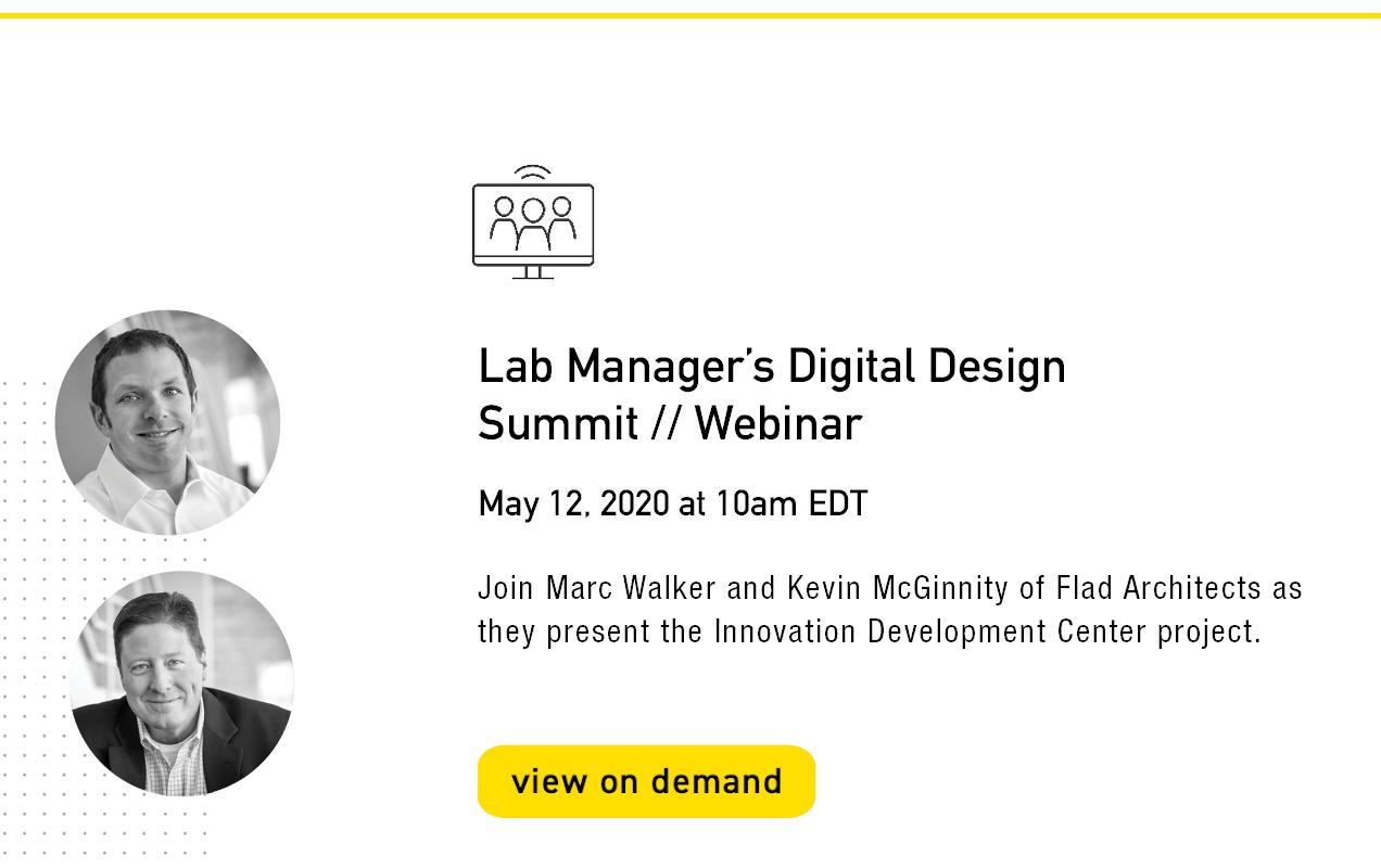 Lab Manager Digital Design Summit Webinar - May 12, 2020