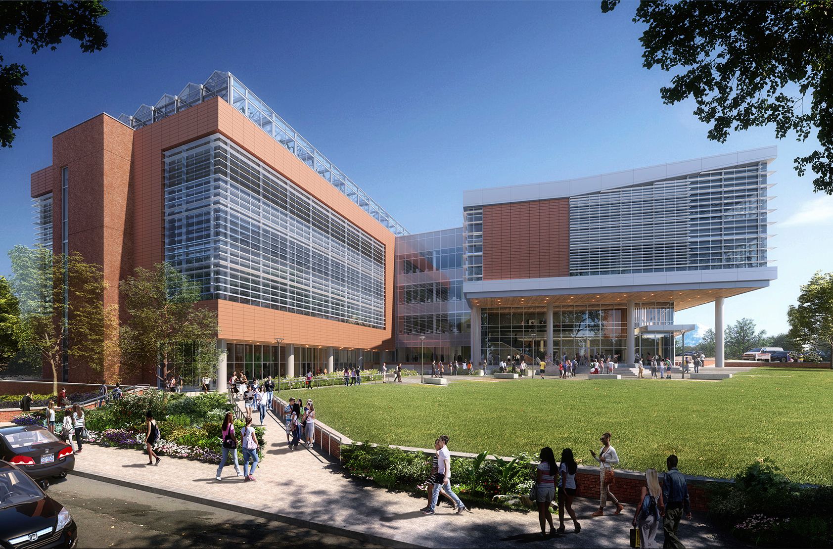 North Carolina State University - Plant Sciences Building