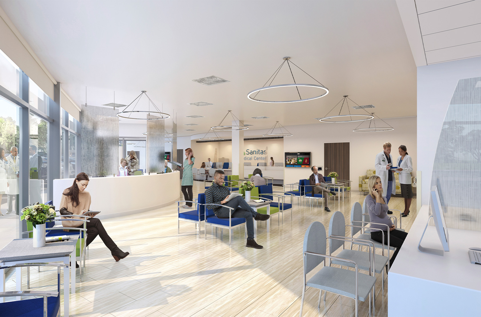Sanitas USA - New Medical Centers