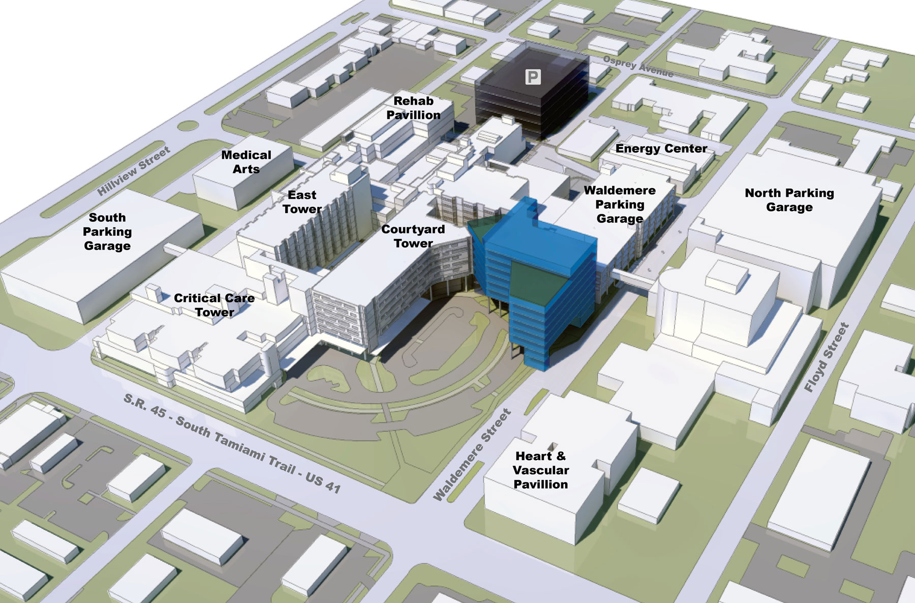 Sarasota Memorial Hospital - Strategic Planning and Site Selection Master Plan