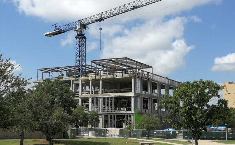 Topping Out : Plant Pathology and Microbiology Building : Texas A&M University