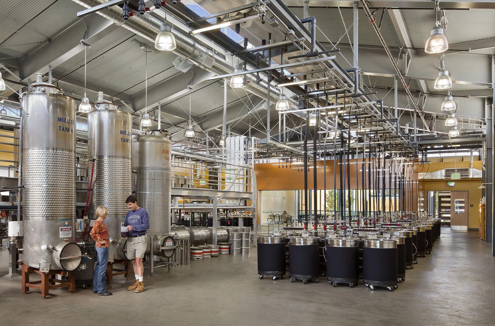 University of California, Davis - Winery, Brewery, and Food Science Laboratory