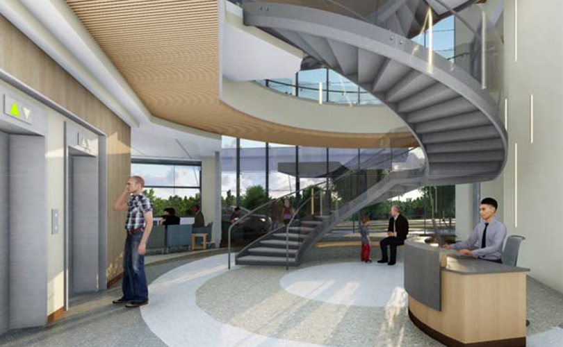 Second Phase of UF Health's New Campus Breaks Ground - Springhill Primary Care Building