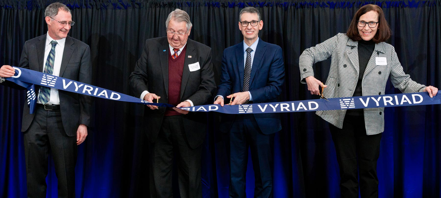 Vyriad Ribbon-Cutting Ceremony | Flad Architects