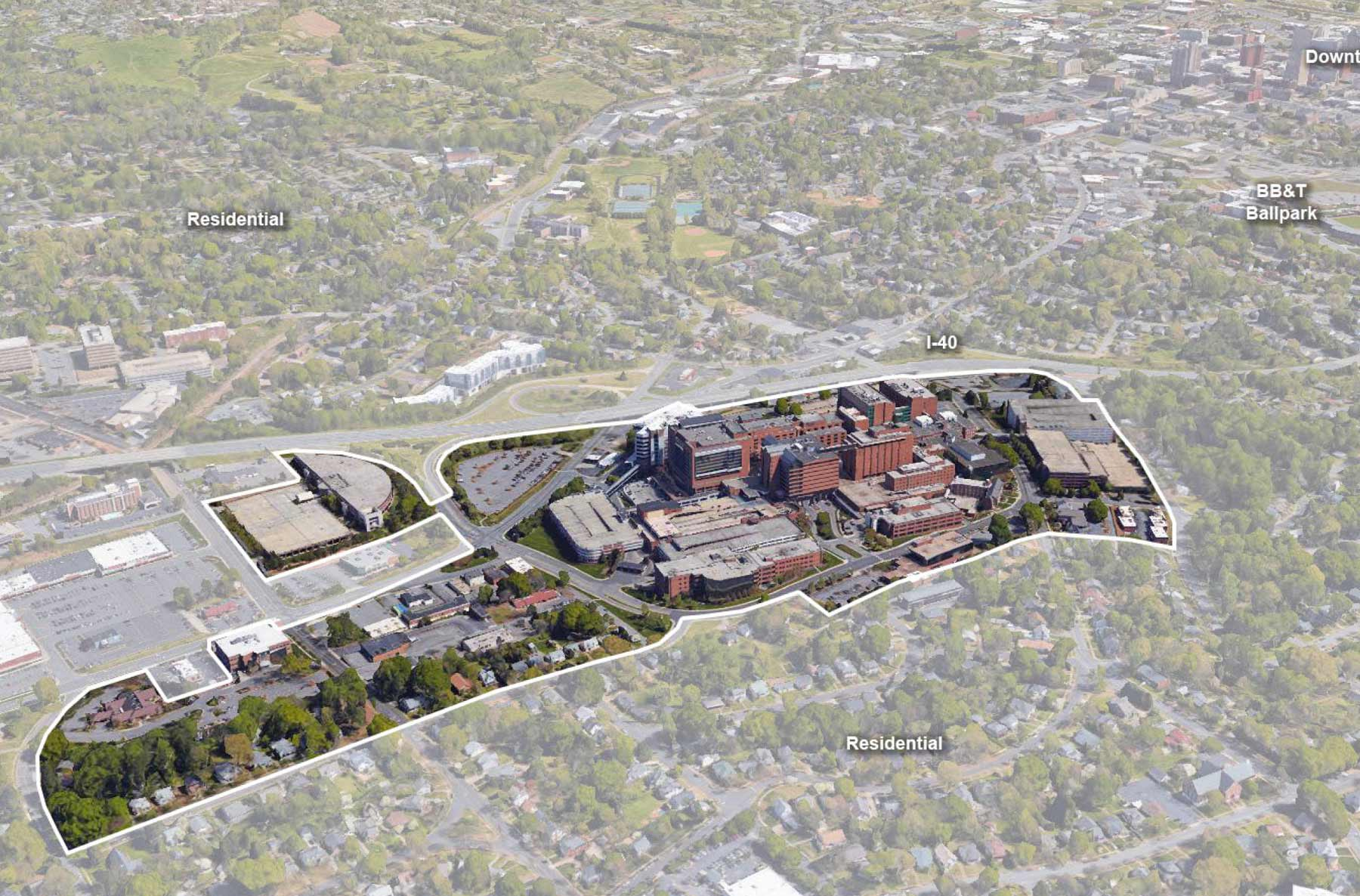 Wake Forest Baptist Medical Center - Master Site and Facilities Plan